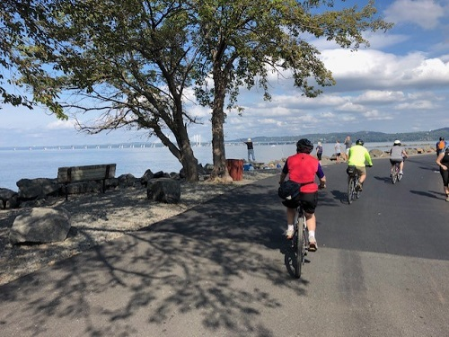 Piermont Pier Bike Ride
